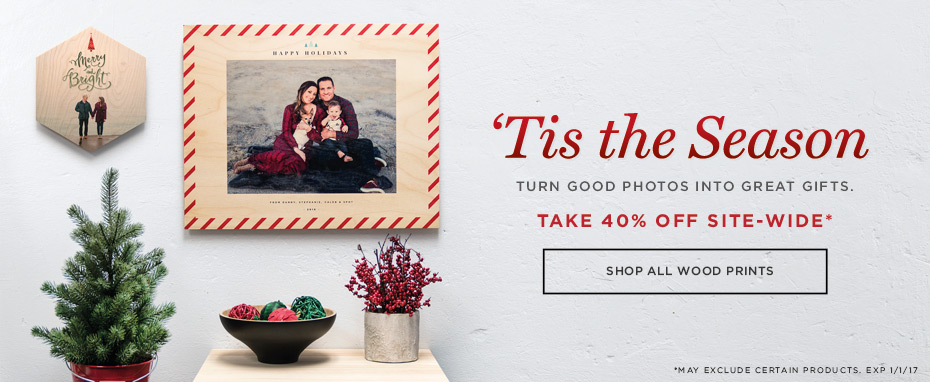 WoodSnap - Christmas 40% Off Sale