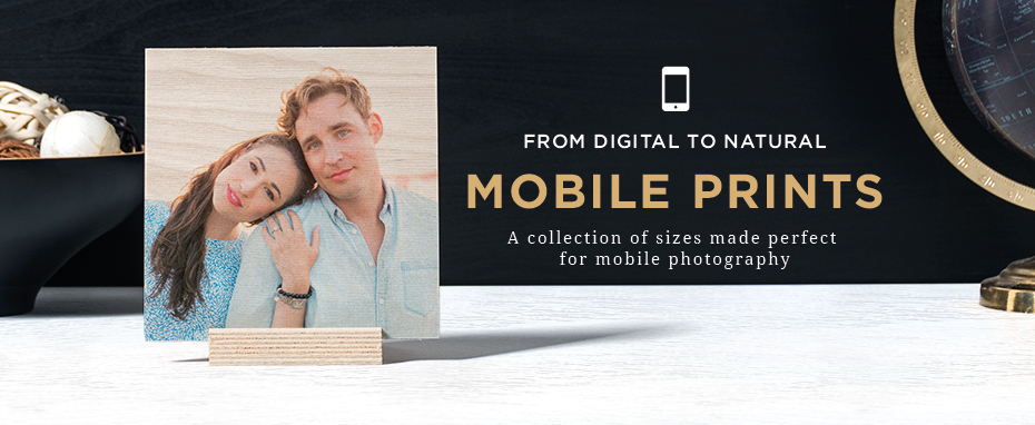 WoodSnap Mobile Photo Prints