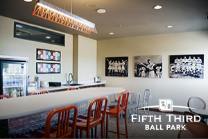 Fifth Third Ball Park - Wood Print Signage