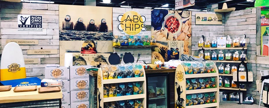 WoodSnap - Cabo Chips Food Expo Prints & Stand Project