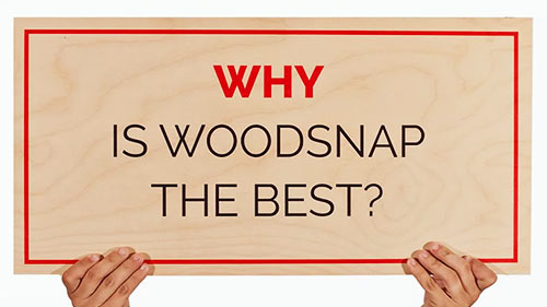 Why choose WoodSnap
